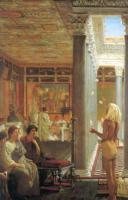 L.Alma-Tadema Egyptian Juggler 1870 Oil on canvas 78,7x48,9 Private collection