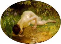 Sh.A.Lenoir The Bather Oil on canvas 106,7x144,8 Auction Sotheby's