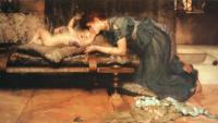 L.Alma-Tadema An Earthly Paradise 1891 Oil on canvas 86,4x165,1 Private collection