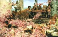 L.Alma-Tadema The Roses of Heliogabalus 1888 Oil on canvas 132,1x213,7 Private collection