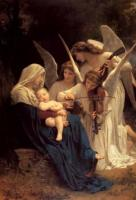 W.A.Bouguereau Madonna with angels 1881 Oil on canvas 213,4x152,4 Glendale.Museum
