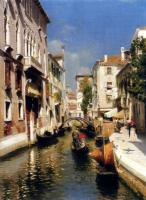 Rubens Santoro Venice Oil on canvas 50,2x36,8 Private collection