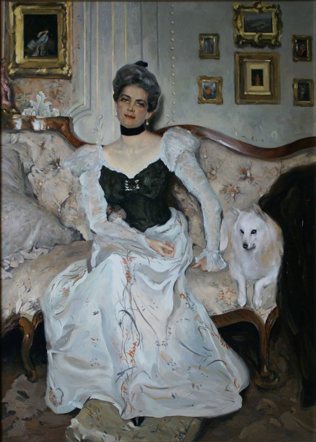 Serov. Portrait of Princess Z.Yusupova.