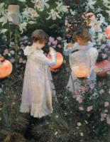 J.S.Sargent Carnation, Lily, Lily, Rose 1886 Oil on canvas 153,7x174 The Tate Gallery. London