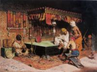 Jose Villegas y Cordero The Slipper Merchant 1872 Oil on canvas 48,2x65 The Walters Art Museum Baltimore