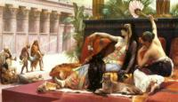 A.Cabanel Cleopatra Testing Poison on Those Condemned to Die 1887 Oil on canvas 165x290 Private collection